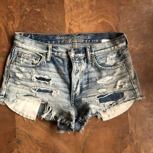 American Eagle Vintage High Rise Festival Short